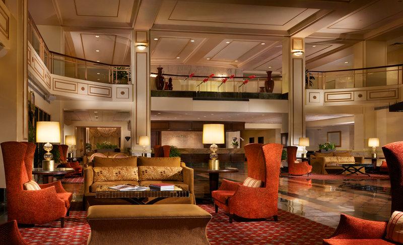 Omni Severin Hotel Lobby