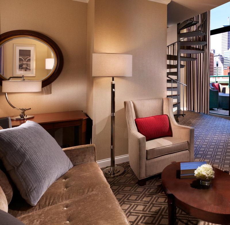 Omni Severin Hotel Suite