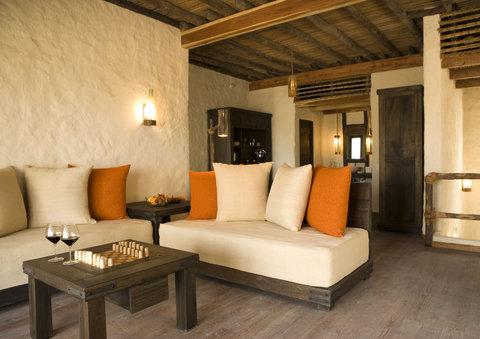 Six Senses Zighy Bay - Deluxe Pool Villa Living Room