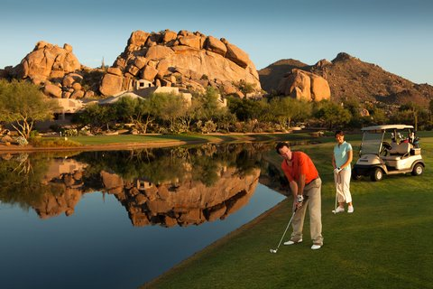 Boulders Resort & Golden Door Spa - Golf with Boulder Pile View - CVG - 07 10