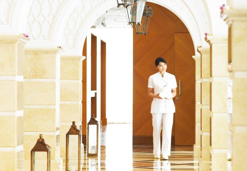 Doha Marriott Hotel Wellnessbereich