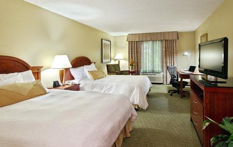 希爾頓黑得希爾頓花園酒店 - 2 Queen Bed Guest Room
