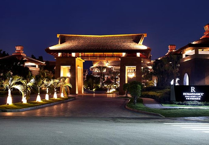 Renaissance Sanya Resort & Spa Vista exterior