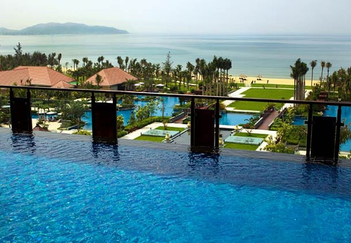 Renaissance Sanya Resort & Spa Vista do quarto
