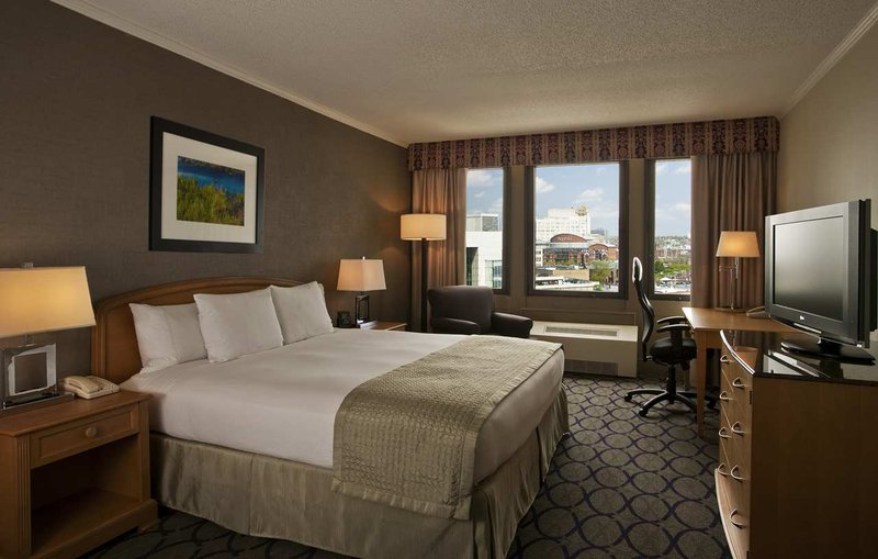 Hilton Newark Penn Station Vista do quarto