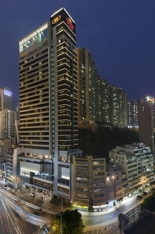 Crowne Plaza Hong Kong Causeway Bay Außenansicht