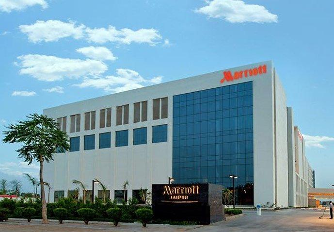 Jaipur Marriott Hotel Vue extérieure