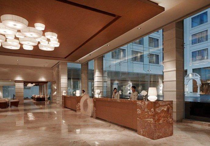 Jaipur Marriott Hotel Lobby