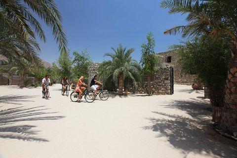 Six Senses Zighy Bay - Bicycle Ride