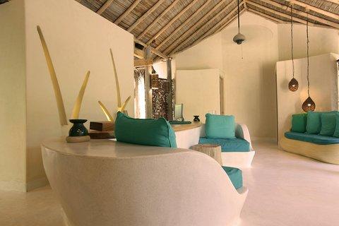 Six Senses Laamu - Spa Reception