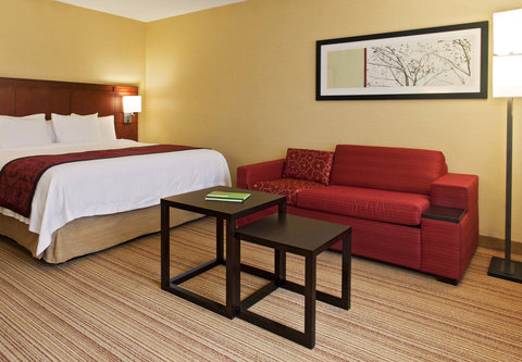 Courtyard Albany Thruway - King Guest Room
