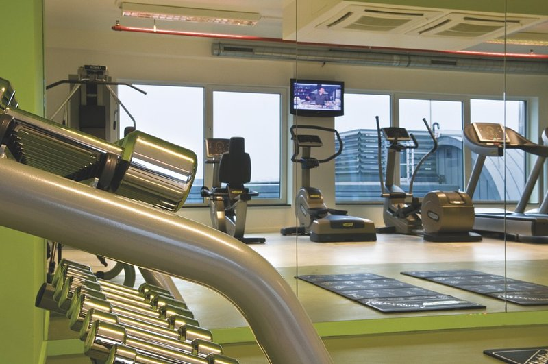 Park Inn By Radisson Brussels Midi Fitness club