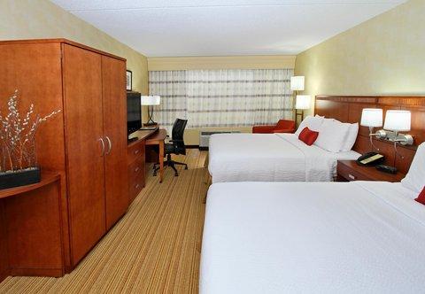 Courtyard by Marriott Rockaway Mount Arlington - Queen Queen Guest Room