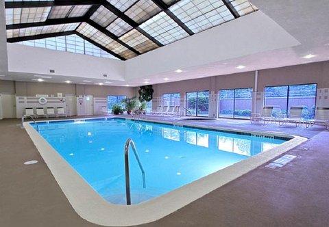 Courtyard by Marriott Rockaway Mount Arlington - Indoor Pool
