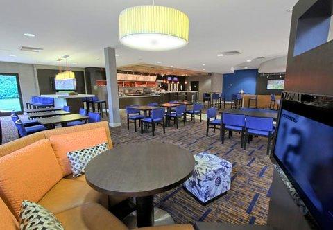 Courtyard by Marriott Rockaway Mount Arlington - The Bistro Dining Area