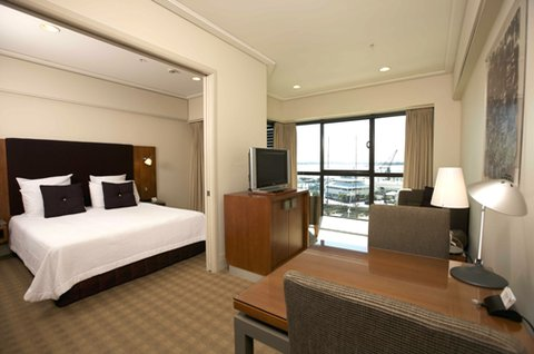 The Sebel Suites Auckland - Bedroom Marina Suite