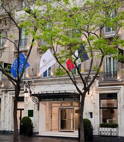 Renaissance Paris Hotel Le Parc Trocadero Außenansicht