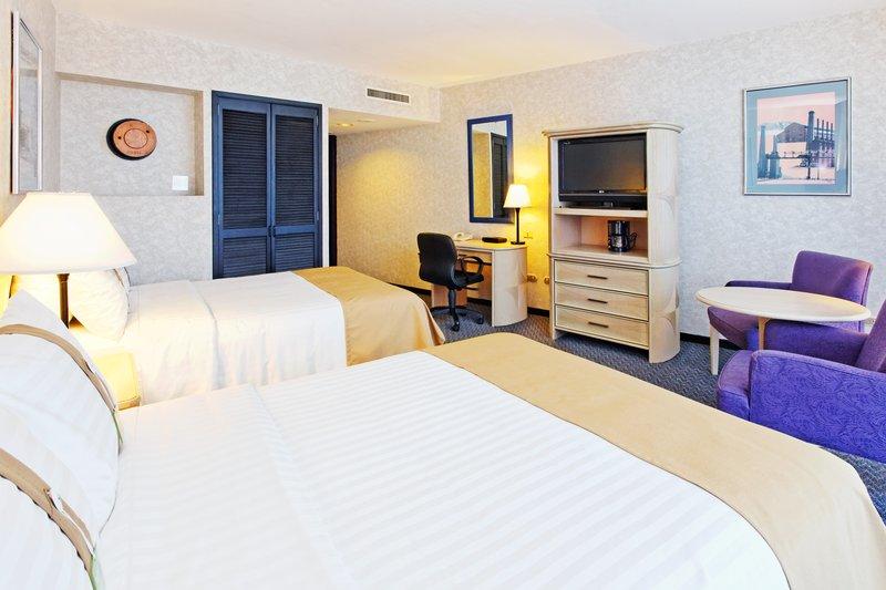 Holiday Inn Monterrey-Parque Fundidora Vista della camera