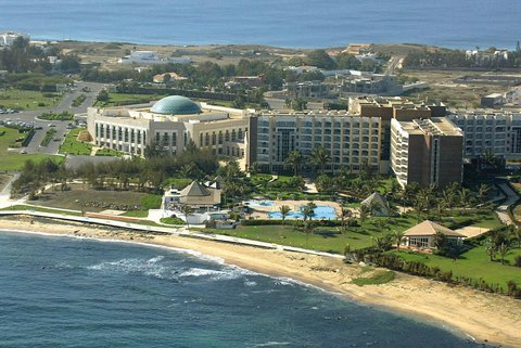 Le Meridien Le President Hotel - Hotel Exterior View From The Sky