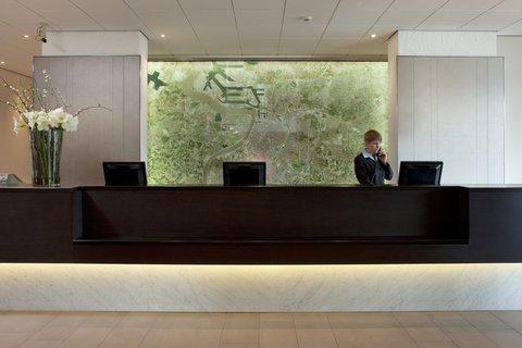 Crowne Plaza ANTWERP - Reception Area