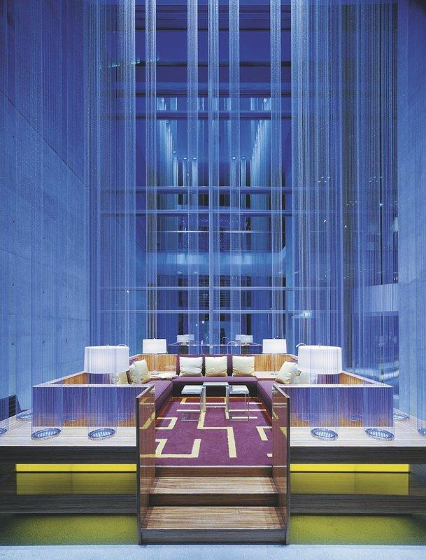 Radisson Blu Hotel Frankfurt Lobby