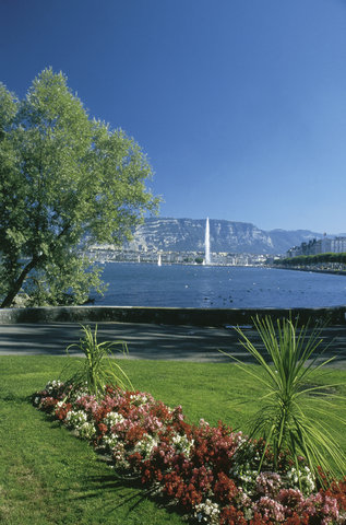 Ramada Encore Geneva - View on the Lake and the Sal ve