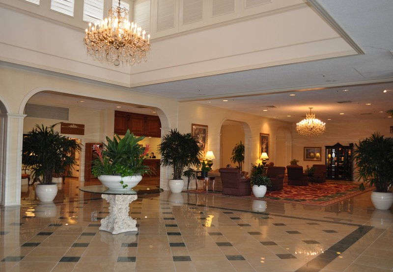 Marriott Baton Rouge Lobby