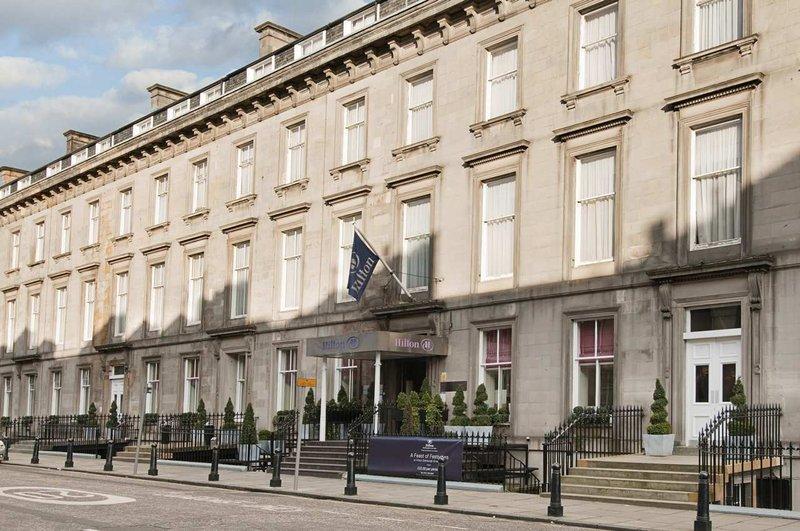 Hilton Edinburgh Grosvenor hotel Pohled zvenku