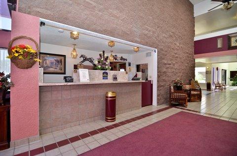 BEST WESTERN Pecos Inn - Reception Desk