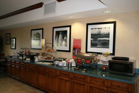 Hampton Inn Naples - I-75 Hotel - Breakfast Area Hot Zone