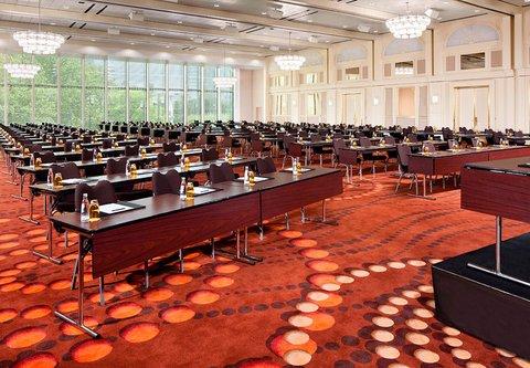Frankfurt Marriott Hotel - Platinum Ballroom Meeting Set Up