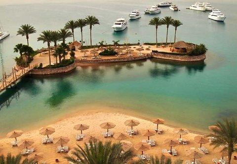 Hurghada Marriott Beach Resort - Our Bamboo private Island