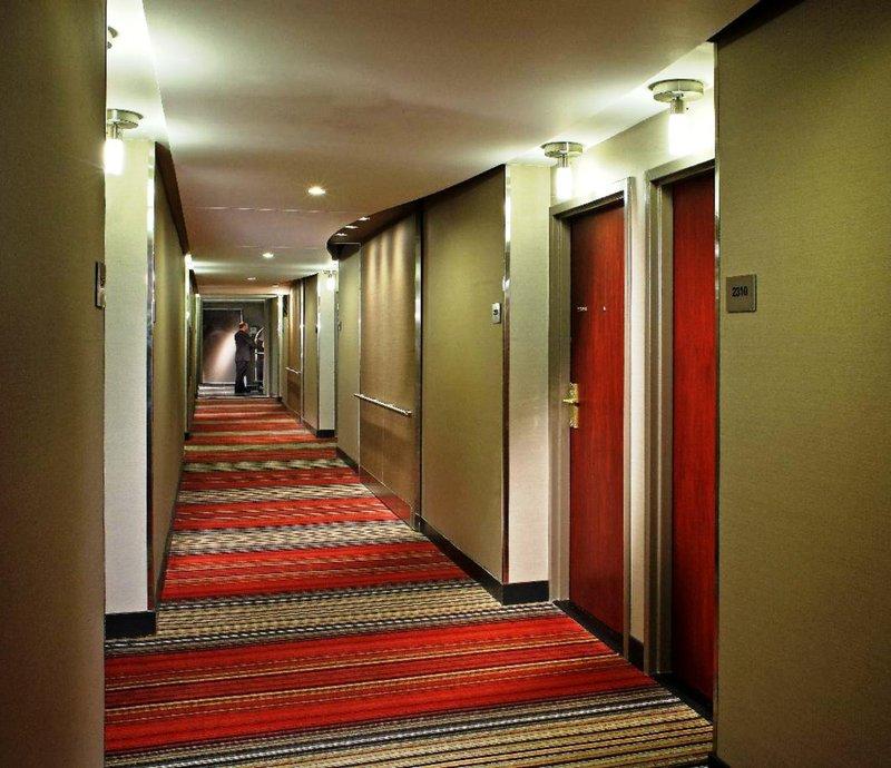 Hilton Toronto Szobakilátás