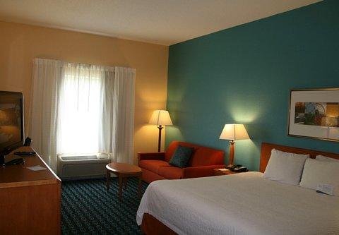 Fairfield Inn & Suites Birmingham Fultondale/I-65 - King Guest Room