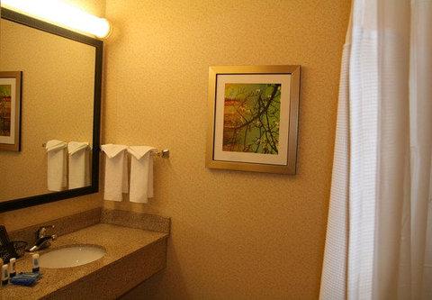 Fairfield Inn & Suites Birmingham Fultondale/I-65 - Guest Bathroom Vanity
