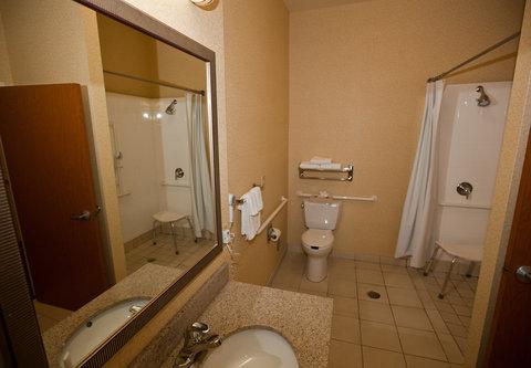 Fairfield Inn & Suites Birmingham Fultondale/I-65 - Accessible Guest Bathroom