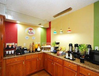 Super 8 Anderson/Clemson Area - Breakfast Setup