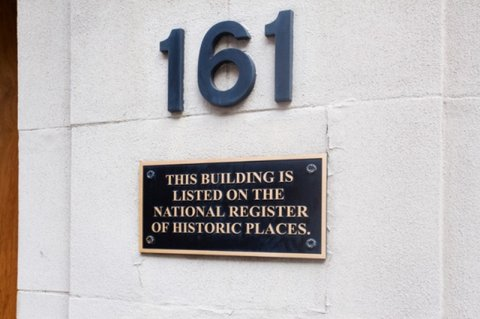 Hampton Inn - Suites Atlanta-Downtown - Historical Plaque-Listed in National Registry of H