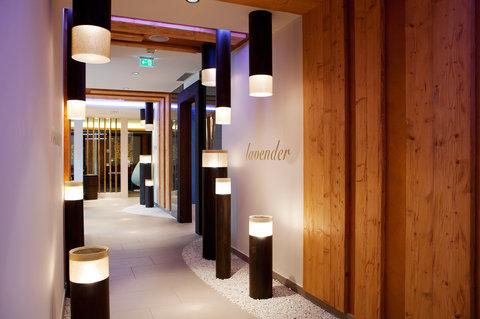 Kempinski Hotel Das Tirol - The Spa Sauna Area