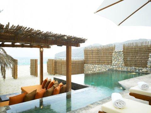 Six Senses Zighy Bay - Pool Villa Beachfront One Bedroom