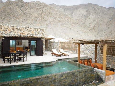Six Senses Zighy Bay - Pool Villa Suite