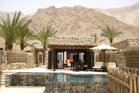 Six Senses Zighy Bay - Spa Pool Villa