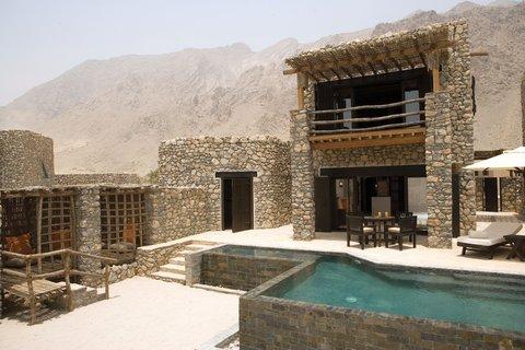 Six Senses Zighy Bay - Zighy Spa Pool Villa
