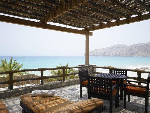 Six Senses Zighy Bay - Private Reserve Balcony