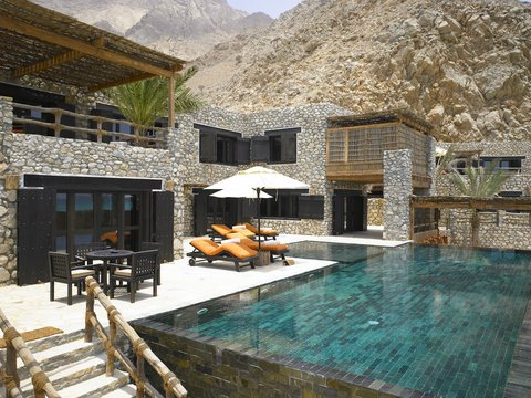 Six Senses Zighy Bay - Private Reserve Pool Terrace
