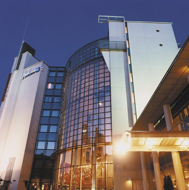 Radisson Blu Royal Hotel, Helsinki Buitenaanzicht