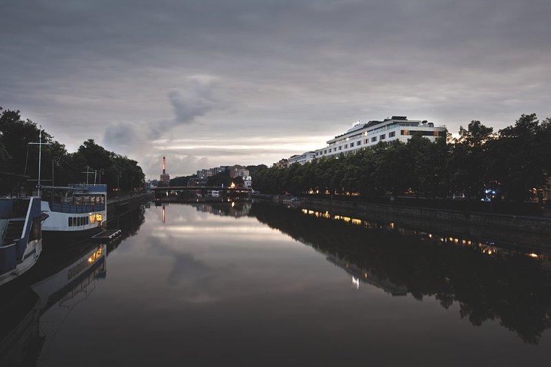 Radisson Blu Marina Palace Hotel, Turku Vista exterior
