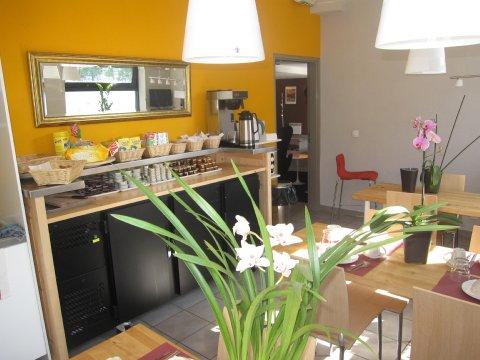 Villa Bellagio Vitry - Breakfast Room