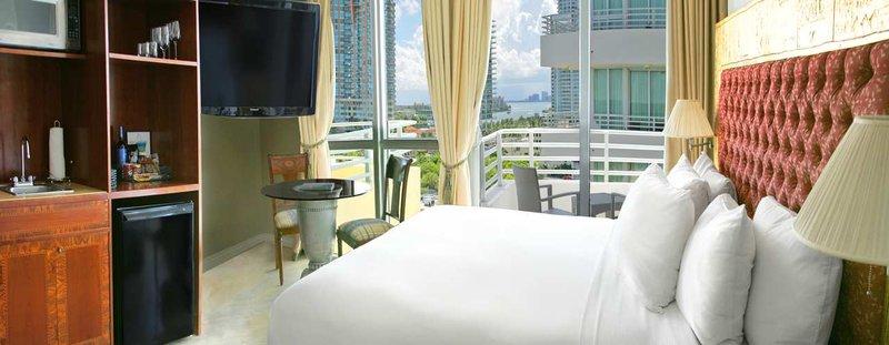 Hilton Bentley Miami/South Beach Szobakilátás