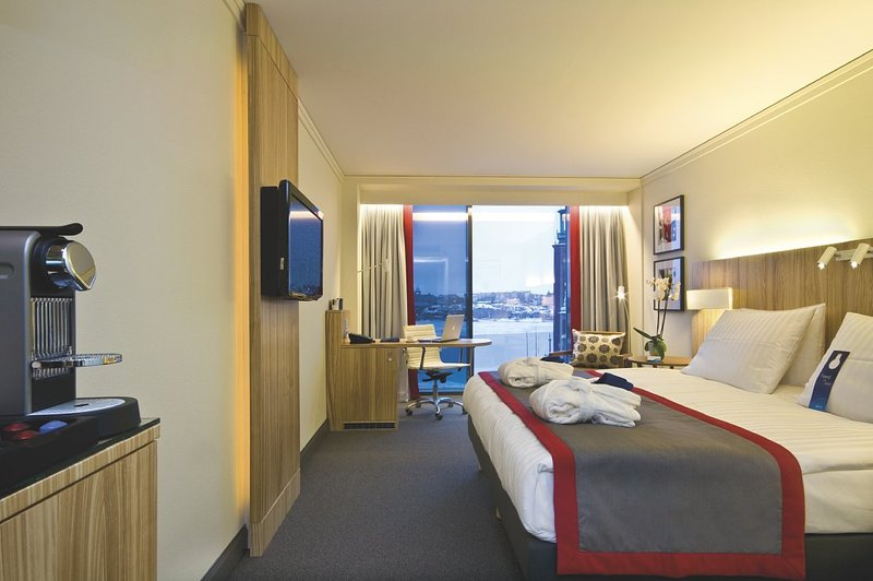 Radisson Blu Waterfront Hotel, Stockholm Vista do quarto